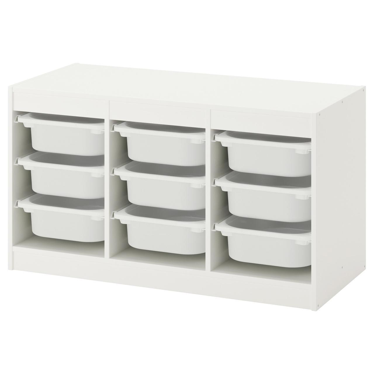 Комод для іграшок IKEA TROFAST 99x44x56 см білий 292.284.70
