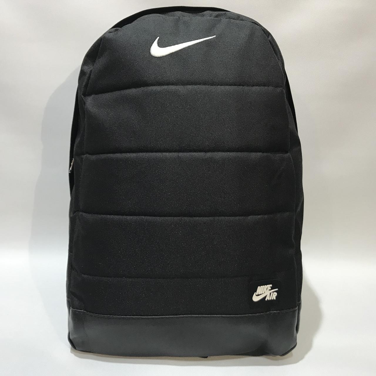 Рюкзак городской спортивный Nike Найк / мужской / черный
