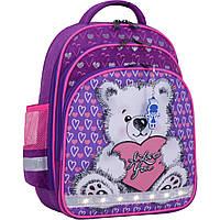 Украина Рюкзак школьный Bagland Mouse 339 фиолетовый 377 (0051370), фото 1