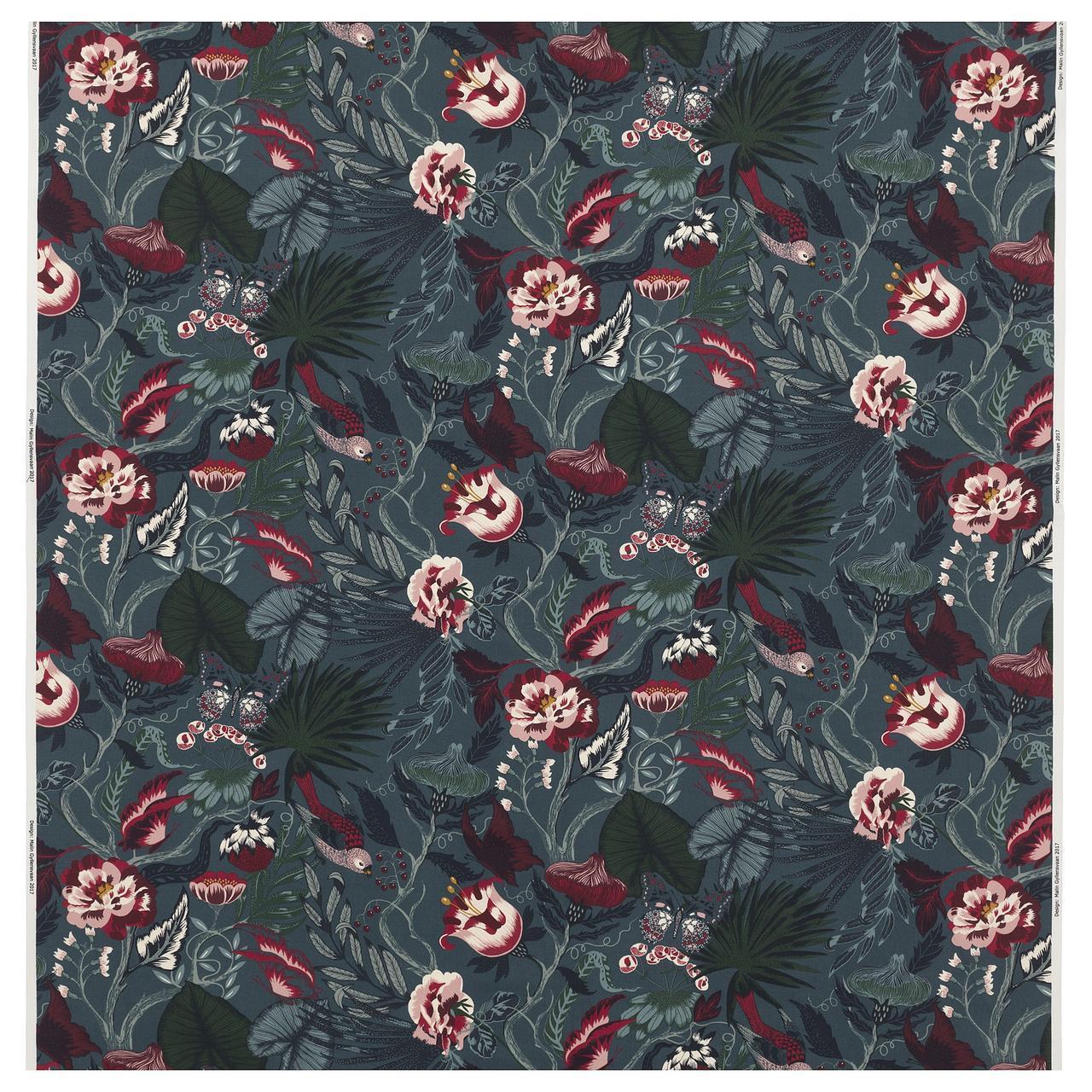 Ткань IKEA FILODENDRON 1.50 м² цветочный узор 504.108.01