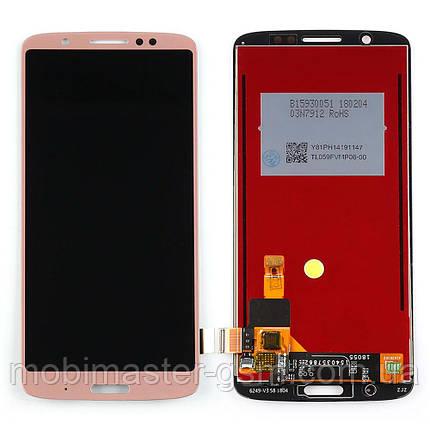 Дисплейный модуль Motorola XT1926 Moto G6 Plus gold, фото 2