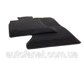 Коврики BMW 5 (F10, F11) передние оригинальные резиновые в салон (51472153725)
