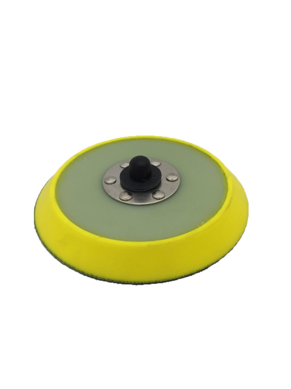"Оправка на эксцентриковую машинку 5/16"" - Lake Country DA Backing Plates Yellow Urethane 125 мм. (43-125DAR)"