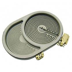 Конфорка 2400/1500W для стеклокерамической поверхности Electrolux 3890808250