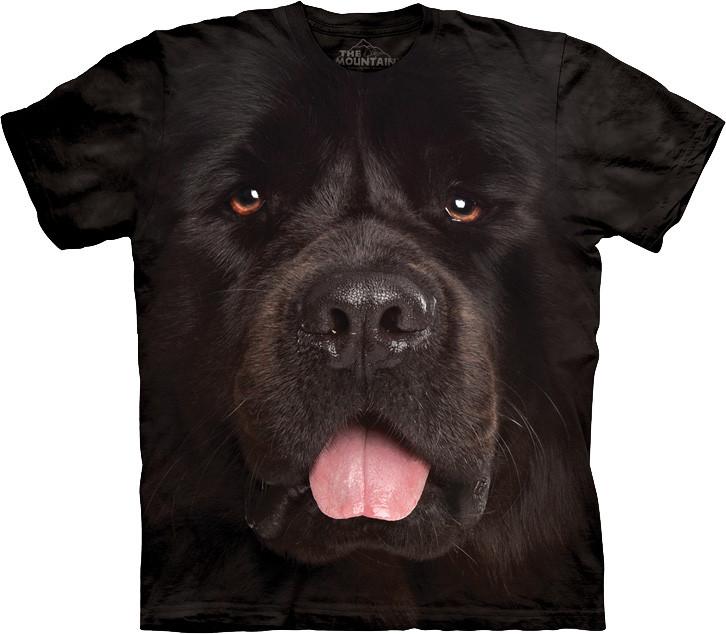 3D футболка The Mountain -  Big Face Newfie