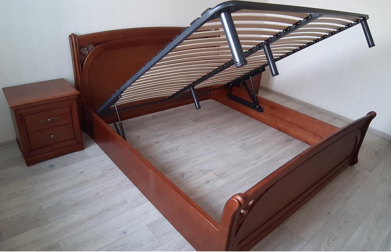 Деревянная кровать Лексус с подъемным механизмом