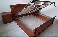 Деревянная кровать Лексус с подъемным механизмом, фото 1
