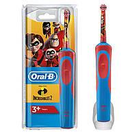 Зубная щетка детская Oral-B D 12.513 Супер семейка (incredibles)