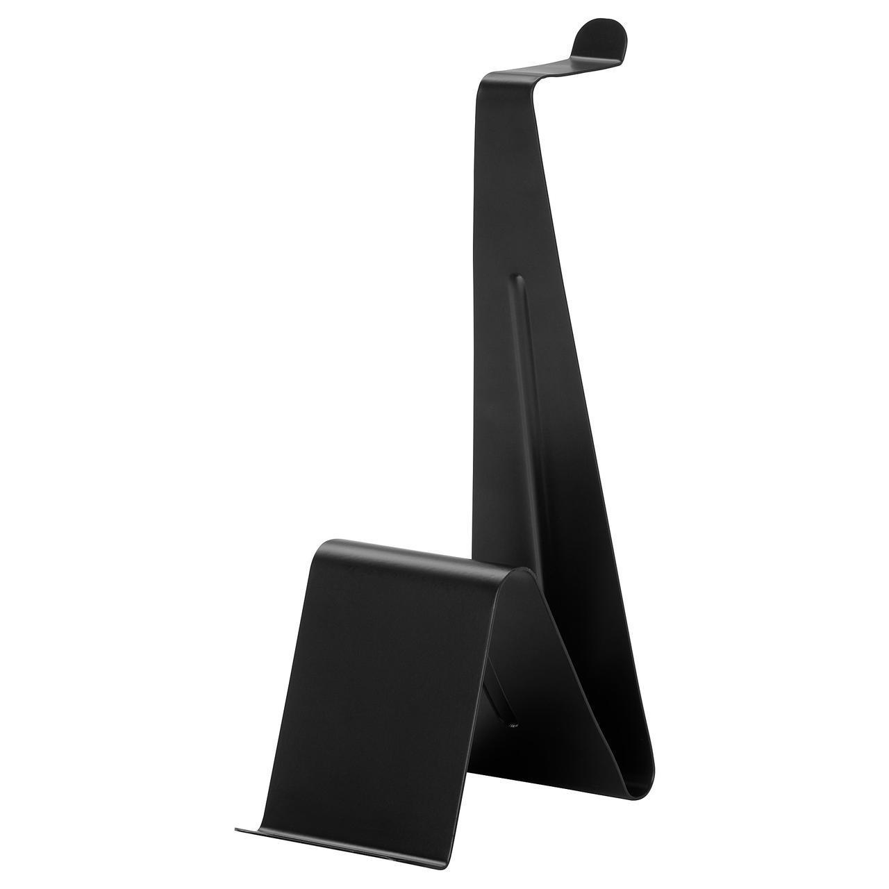 Подставка для таблета/наушников IKEA MÖJLIGHET черная 004.342.77