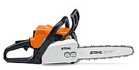 Легкая, ручная бензопила STIHL, с системой легкого запуска ErgoStart и быстрой натяжкой цепи