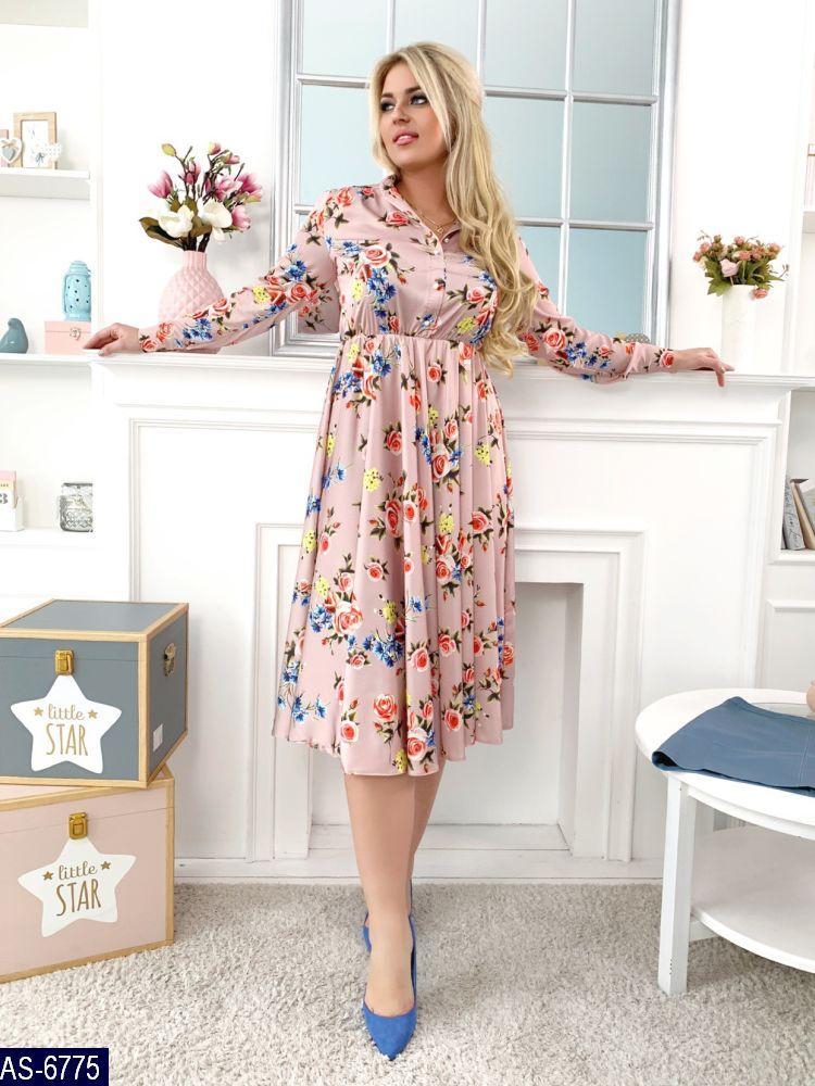 Нарядное платье   (размеры 48-54)  0160-25