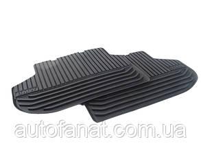 Оригинальные коврики BMW 5 (F10, F11) задние резиновые в салон дорестайл 10-13  (51472153889)