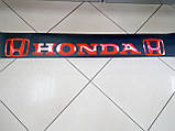 Виниловые наклейки на лобовое стекло HONDA  135х17 см, фото 3