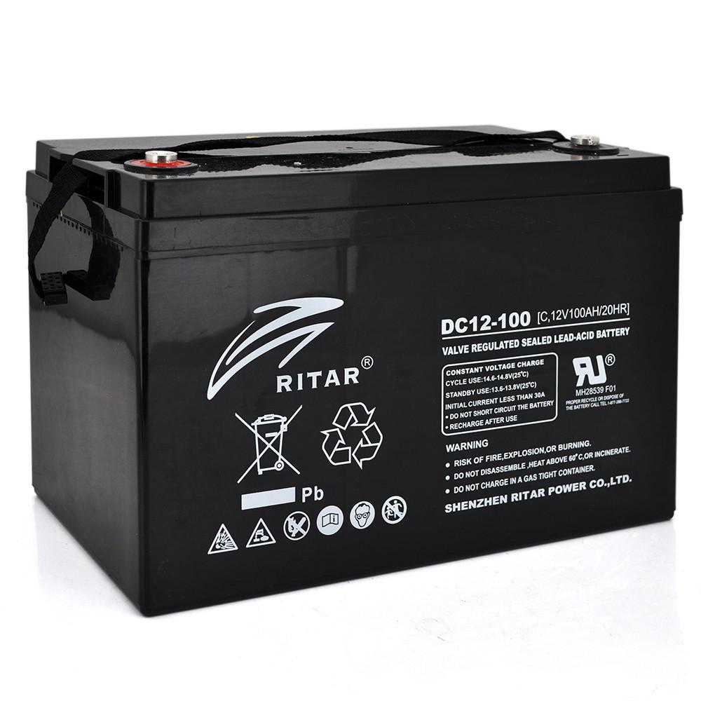 Аккумулятор для ИБП Ritar CARBON DC12-100C 12V 100Ah