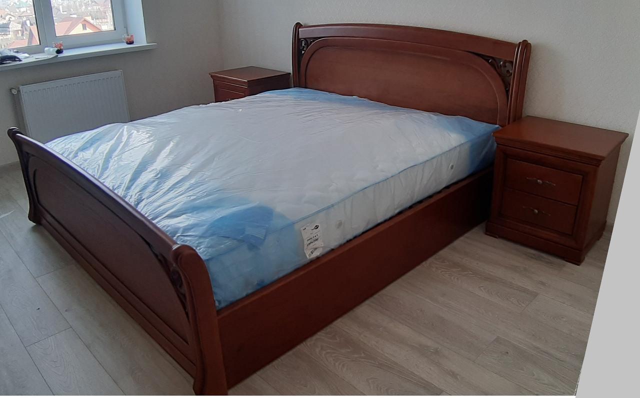 Деревянная кровать Лексус