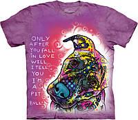 3D футболка The Mountain -  Fall in Love
