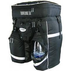 Рюкзак вело Travelbike 50л чёрный