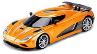 Автомобиль на радиоуправлении Supercar City (оранжевый-металлик), 1:16, JP383