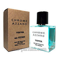 Тестер Azzaro Chrome (Аззаро Хром), 50 мл (лицензия ОАЭ), фото 1