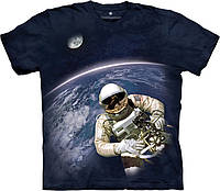 3D футболка The Mountain -  First American Space Walk