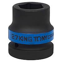 "Головка торцевая ударная шестигранная 1"" 27 мм King Tony 853527M"