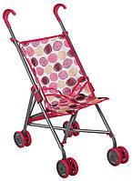Коляска-строллер Walky, бело-розовая, Todsy, фото 1
