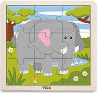 "Пазл Viga Toys ""Слон"" (51441)"