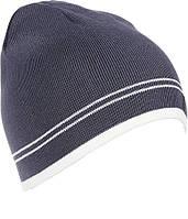 Вязаная детская шапка для мальчика Tом, серый, L (55-57), фото 1