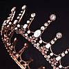 Корона круглая на голову. БЕРТА, корона мужская, мирта,  корона для венчания, фото 3