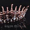 Корона круглая на голову. БЕРТА, корона мужская, мирта,  корона для венчания, фото 7