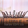 Корона круглая на голову. БЕРТА, корона мужская, мирта,  корона для венчания, фото 8