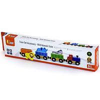 """Доп. набор к ж/д Viga Toys """"Поезд с животными"""" (50822), фото 1"""