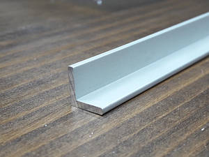 Уголок алюминий, анод 10х10х2 R-2mm