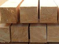 Деревянные бруски 1-3 сорта 100х100мм (4-6 м)