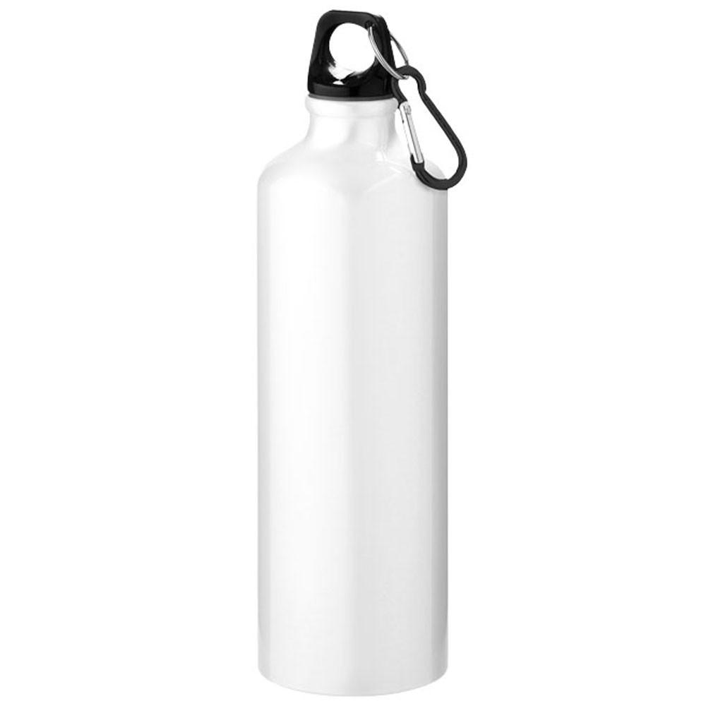 Спортивная бутылка Pacific металлическая, 770 мл, белая, от 10 шт