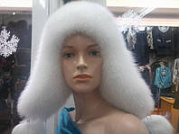 Теплая зимняя шапка ушанка женская