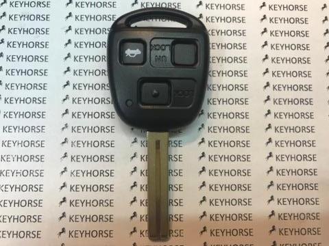 Авто ключ для LEXUS (Лексус) 3 - кнопки, 315 Mhz ,чип 4D67