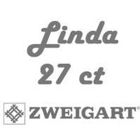 Рівномірна тканина Linda 27 ct
