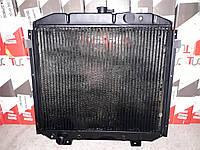 Радиатор охлаждения ГАЗ 66 4-х рядный медь Иран