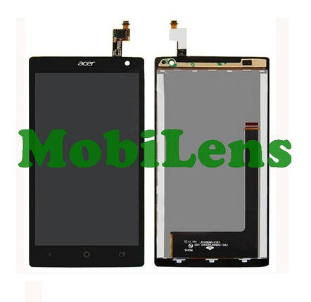 Acer Z150, Liquid Z5 Дисплей+тачскрин(сенсор) черный, фото 2