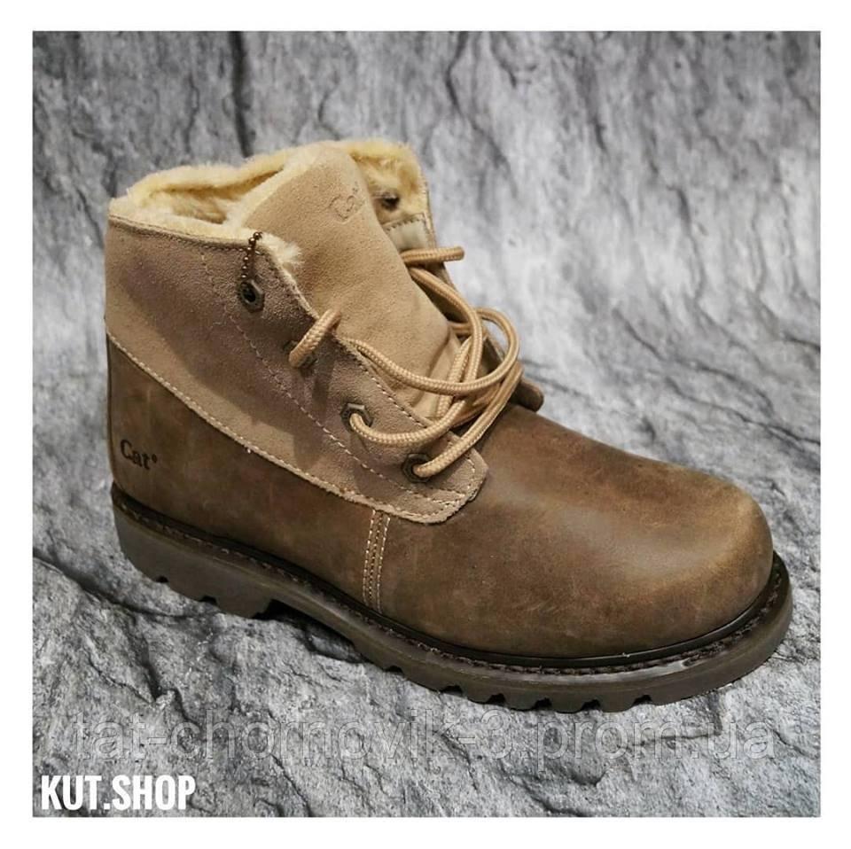Мужские ботинки Cat footwear collection из кожы