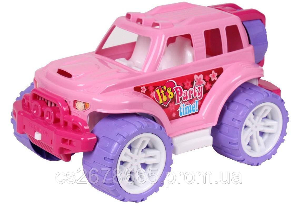 Джип 4609 Технок внедорожник розовый «Luxury»