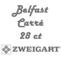 Рівномірна тканина (льон) Belfast Carré 28 ct