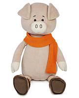 Свин Барри в шарфике, 33 см, Maxitoys Luxury, фото 1