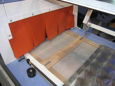 Шторки термостойкие на термотуннели, фото 2