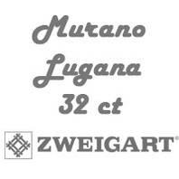 Рівномірна тканина Murano Lugana 32 ct
