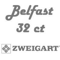 Рівномірна тканина (льон) Belfast 32 ct