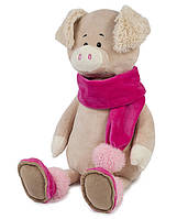 Свинка Ася в шарфике, 33 см, Maxitoys Luxury, фото 1