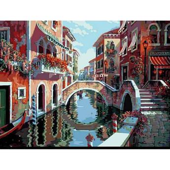 """Картина по номерам """"Полдень в Венеции. Худ. Боб Пейман"""", 40x50 см Babylon"""