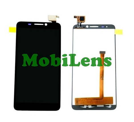 Alcatel 6012, 6012X, 6012D Idol mini Дисплей+тачскрин(сенсор) черный, фото 2